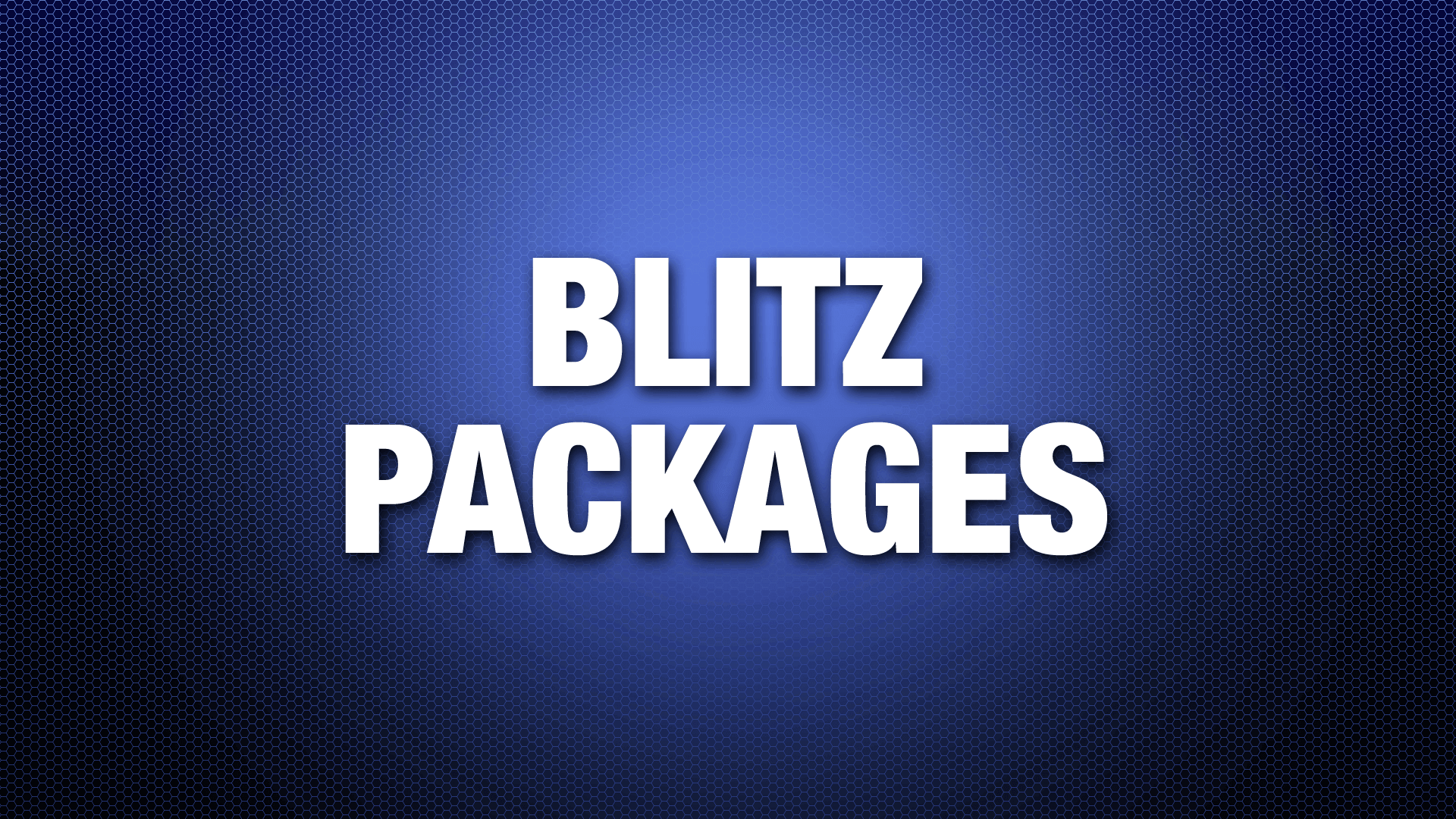 BlitzPackages