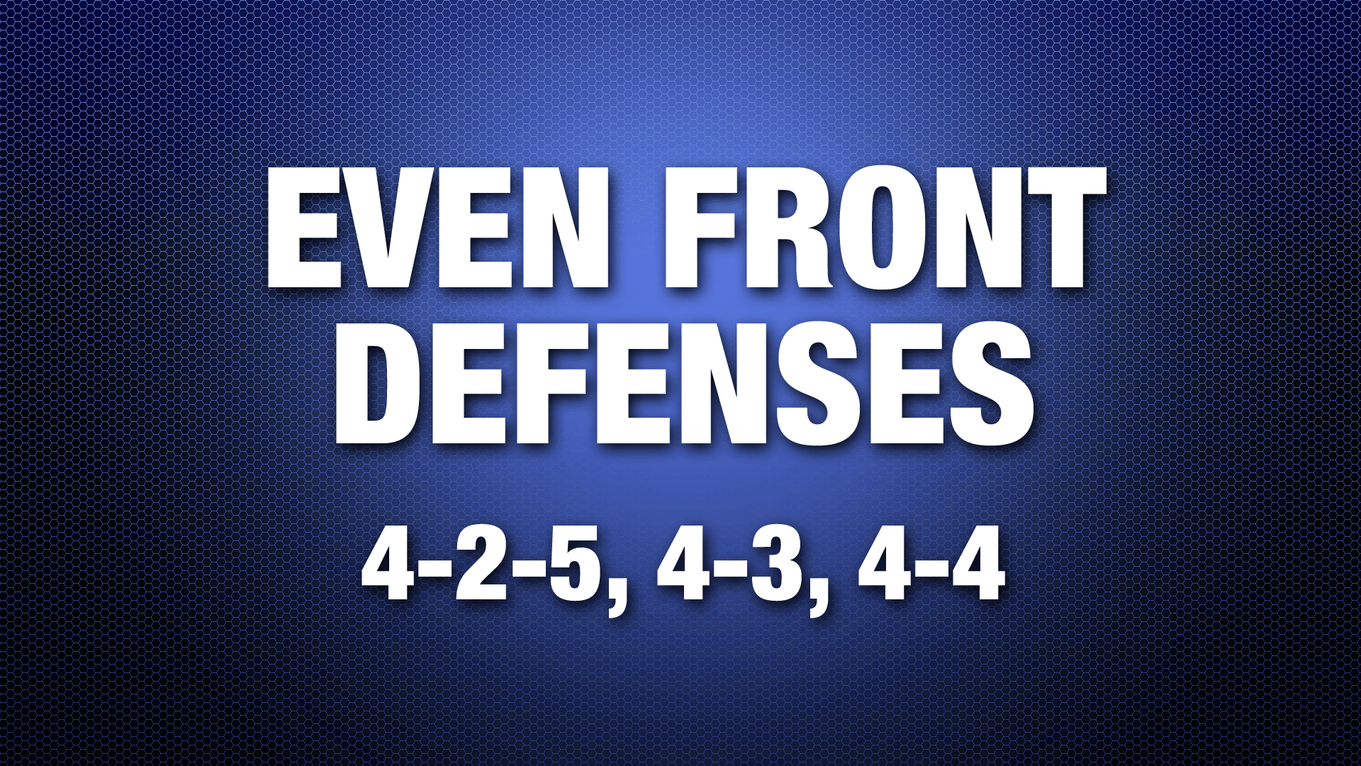 EvenFront4-2-5,4-3
