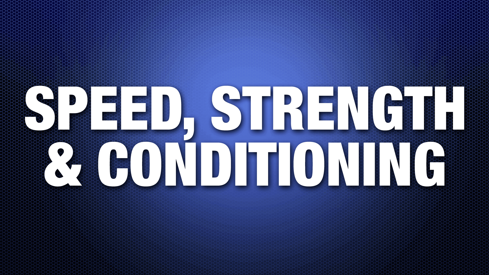 SpeedStrengthConditioning